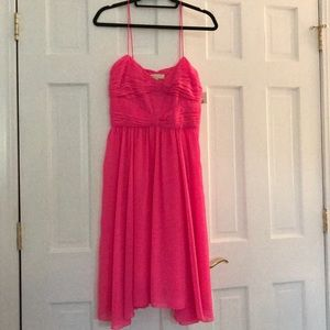 Erin Fetherston Bow Bodice Pink Dress